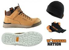 Mens Scruffs Switchback SBP SRA HRO Rated Safety Boot Work Tan FREE SOCKS & HAT