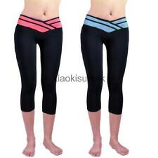 Gym Sports Running Jogging Fitness Yoga Training Pants Elastic Stretch Leggings