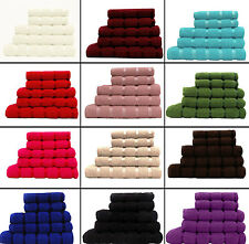 100% EGYPTIAN COTTON TOWELS AND LUXURY TOWEL SETS (FACE, HAND, BATH, BATH SHEET)