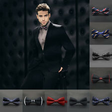 Mens Wedding Bowtie Classic Necktie Novelty Tuxedo Bow Tie Adjustable Tie Party