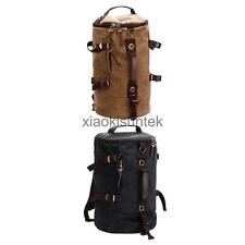 Travel Canvas Retro Men's Rucksack Laptop Hiking Shoulder Messenger Backpack Bag