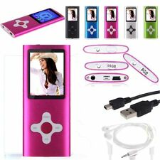 "8GB/ 16GB / 32GB portable Digital Mp3 Mp4 Player Walkman1.8"" LCD FM Radio Games"