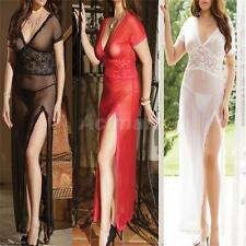 Plus Size Sexy Lingerie Sleepwear Underwear Babydoll Maxi Dress G-String 6366