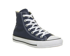 Mens Converse All Star Hi NAVY CANVAS Trainers Shoes