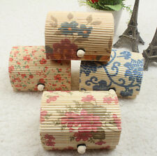1pcs Bamboo Wooden Storage Boxes Cute Gift Box Jewelry Hot Case Jewelry Boxes