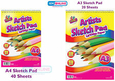 Artist Quality Sketch Cartrige Paper Pad 90gsm For Carcoal/Sketch/Paint/Pastels