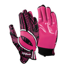 Wilson Receiver Pink Football Gloves Breast Cancer Awareness Hope Super Grip