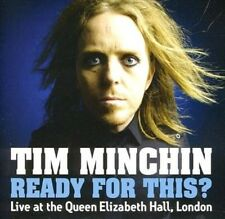Ready for This Live At Queen Elizabet - Tim Minchin New & Sealed Compact Disc Fr