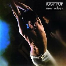 New Values - Pop,Iggy New & Sealed LP Free Shipping