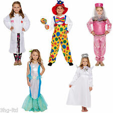 Girls Fancy Dress Up Costume Angel Clown Bollywood Doctor Mermaid 4-9 Years New