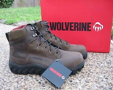 NEW Mens Wolverine Ripsaw Leather Waterproof Composite Toe Work Boots W10228