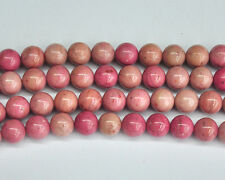 natural red rhodonite gemstone beads round loose stone beads 4mm 6mm 8mm 10mm