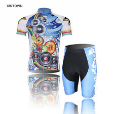 Cycling Ropa Ciclismo Team Summer Bicycle Sports Wear Outdoor Jersey+Shorts Wear