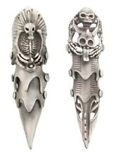Full Finger Gothic Armour Ring Assorted Styles