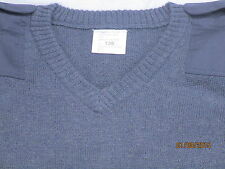 RAF Pullover Jumper V neck Blue Grey Royal Air Force Issue ~ New ~ XL Big Sizes