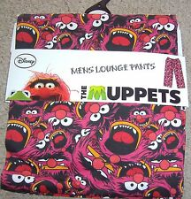 MENS NOVELTY PURE COTTON ANIMAL THE MUPPETS LOUNGE PANTS PYJAMA BOTTOMS BNWT