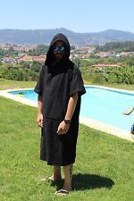 ADULT and KIDS HOODED SURF CHANGING ROBE BEACH PONCHO CHANGING TOWEL SWIM