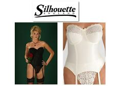 Silhouette Lingerie Paysanne Bridal Multiway Basque 4056 Black White Or Pearl