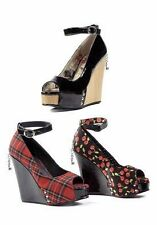 Penthouse 4.5 Inch Open Toe, Partially Concealed Wedge Women's Size Shoe