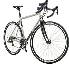 Genesis Equilibrium Stainless Road Bike - Stainless Steel Frame / Carbon Fork