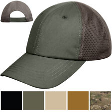 Mesh Back Tactical Cap Adjustable Military Baseball Hat