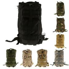 3P Military Tactical Rucksack Backpack Bag for Hiking Trekking Camping Day Packs