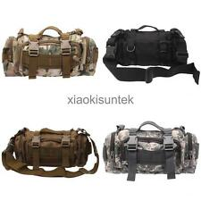 Utility Outdoor Military Tactical Waist Pack Molle Assault Backpack Tote Bag