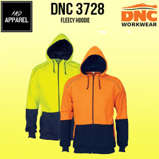 HiVis Contrast Piping Fleecy Hoodie Brand New Clothes 3728 dnc