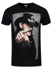 Motorhead Lemmy Portrait Men's Black T-shirt