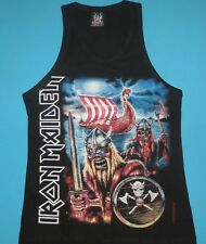 Iron Maiden - Nordic Tour Tank Top Vest Mens Sleeveless T-shirt