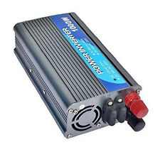 power inverter 1000W 24V DC to AC 220V converter voltage transformer with clamps