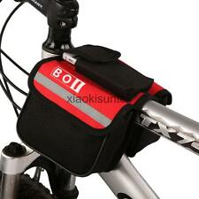 Outdoor Cycling Bike Bicycle Front Frame Pannier Tube Bag Pack Case Saddle Pouch
