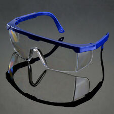 Actual Safety Eye Protection Clear Lens Goggles Glasses From Lab Dust OO