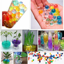 Water Plant Flower Jelly Crystal Soil Mud Water Pearls Gel Beads Ball choose