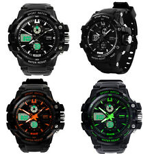 Dual Movement SKMEI Sports Digital Analog Multifunction Army Quzrtz Wrist Watch