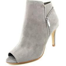 Marc Fisher Serenity Women  Peep-Toe Suede Gray Ankle Boot