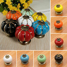 Lots Ceramic Knobs Handles Door Pull Drawer Cupboard Wardrobe Porcelain Hardware