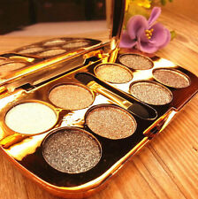 8 Colors Eyeshadow Eye Shadow Sparkling Shimmer Brush Palette  Makeup Pro