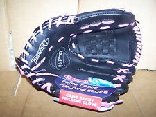 DIAMOND D-450 GAME READY FIELDING GLOVE  11 1/2 INCH  PINK LACES - YOUTH NEW