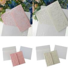 10pcs Pink/Cream High Quality Wedding Party Gatefold Invitation Cards Laser Cut