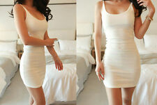 Bottoming Vest Tight Package Hip Skirt Dress Sexy Summer Sleeveless