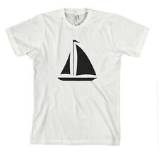 SAIL BOAT FUNNY Unisex Adult T-Shirt Tee Top