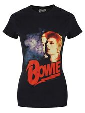 David Bowie Retro Women's Black T-shirt