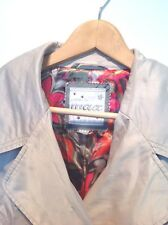 Ladies Wax Trenchcoat, Mac Autumn Size 12/14 Gorgeous