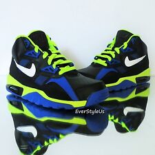 NEW NIKE Air Trainer SC (GS) Youth/Womens Cross Training Shoes Blck/Wht/Blue