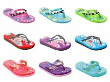 WOMENS TOE POST FLIP FLOP BEACH SUMMER HOLIDAY FLAT SANDALS LADIES SIZE 3-8
