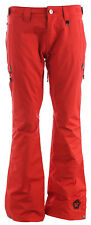 Sessions Envy Snowboard Pants Red Mens