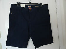 NWT HUGO BOSS ORANGE SCHINO MENS CASUAL SHORTS COTTON NAVY