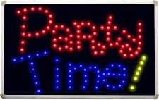 led140 Party Time Bar Beer Led Neon Sign
