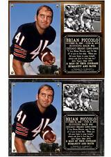 Brian Piccolo #41 Chicago Bears Running Back Photo Plaque Monsters of the Midway